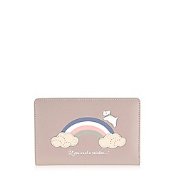 Radley - Rainbow pale pink medium zip-top purse