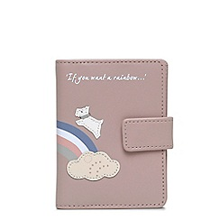 Radley - Rainbow pale pink card holder