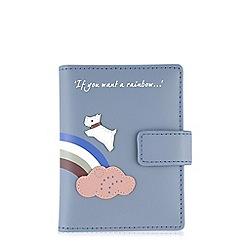 Radley - Rainbow blue card holder
