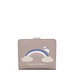 Radley - Rainbow pale pink medium folded purse