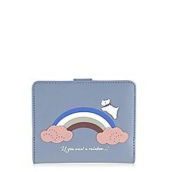 Radley - Rainbow blue medium folded purse