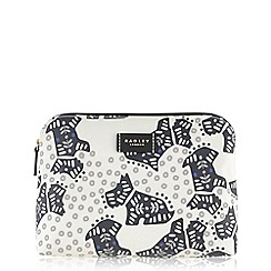 Radley - Folk dog ivory medium pouch
