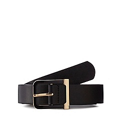 The Collection - Black buckle belt