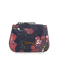 Mantaray - Navy floral print coin purse