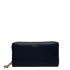 Radley - Arlington street navy large zip around matinee purse