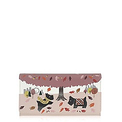 Radley - Autumn days pale pink large flapover matinee purse
