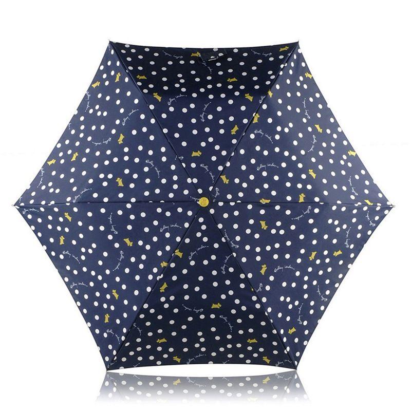 Radley Vintage Dog Dot Mini Telescopic Umbrella
