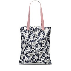 Radley - Folk floral natural medium tote bag