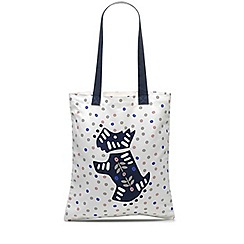 Radley - Folk dog natural medium tote bag