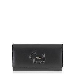 Radley - Shadow black large flapover matinee purse