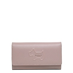 Radley - Shadow pale pink large flapover matinee purse