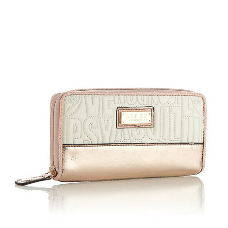 Lipsy - Cream quilted logo purse