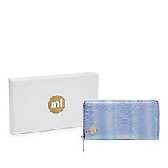 Mi-Pac - Metallic mermaid zip around large purse