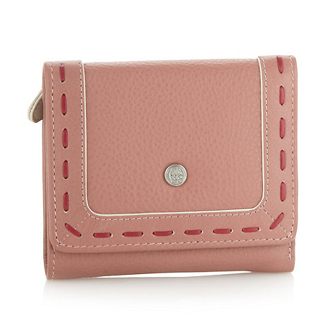 Bailey & Quinn - Mid rose leather +old bailey+ medium flapover purse