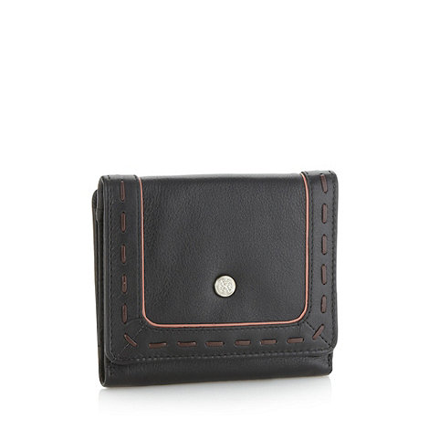 Bailey & Quinn - Black +old bailey+ medium flapover purse
