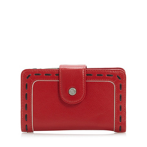 Bailey & Quinn - Red leather +old bailey+ medium zip top purse