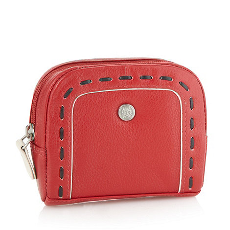 Bailey & Quinn - Red leather +old bailey+ coin purse