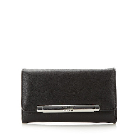 Fiorelli - Black medium flapover purse