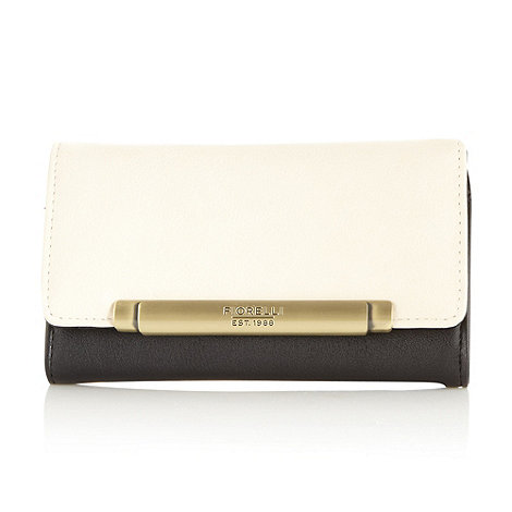 Fiorelli - White medium colour block purse