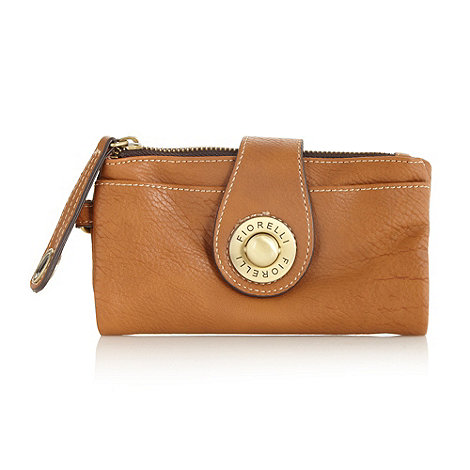 Fiorelli - Tan push lock purse