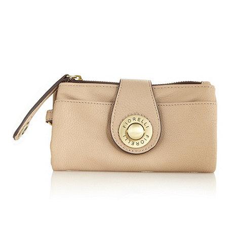 Fiorelli - Natural push lock purse