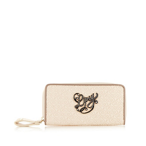 Lipsy - Natural embossed logo purse