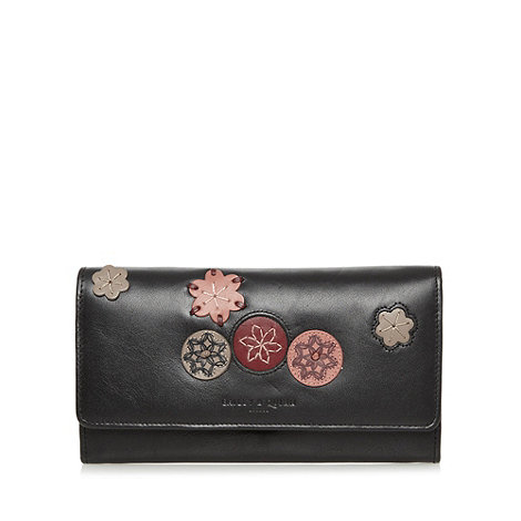 Bailey & Quinn - Black leather +Kew+ matinee purse