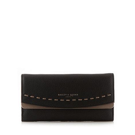 Bailey & Quinn - Black leather +Hartley+ matinee purse