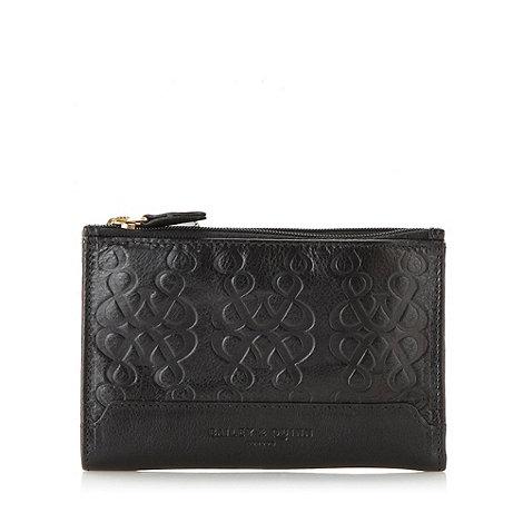 Bailey & Quinn - Black +Hampstead+ logo purse