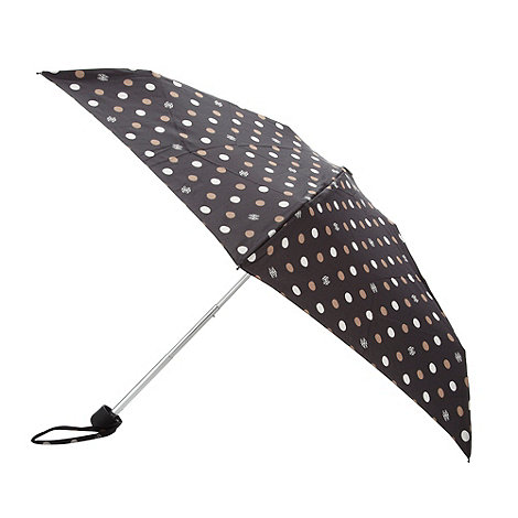 Bailey & Quinn - Black spotted umbrella