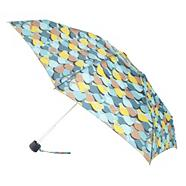 Navy bird patterned umbrella