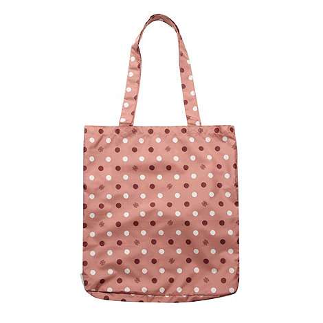 Bailey & Quinn - Rose spotted fold up shopper bag