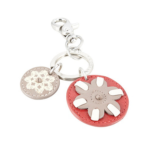 Bailey & Quinn - Red leather +Kew+ keyring