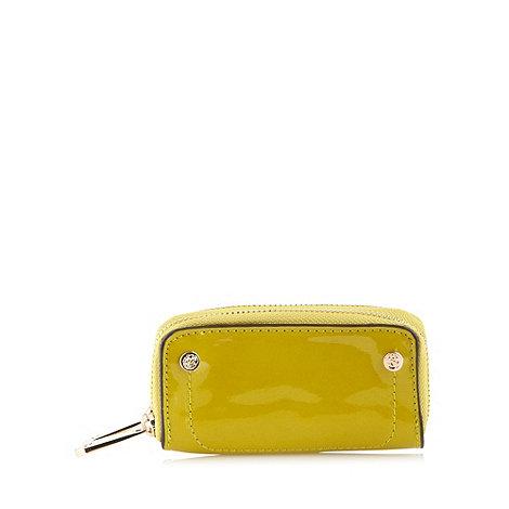 Sacha - Lime patent coin purse
