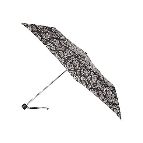 Faith - Black logo swirl umbrella