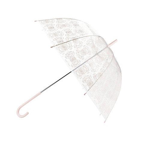 Faith - Pale pink logo walker umbrella