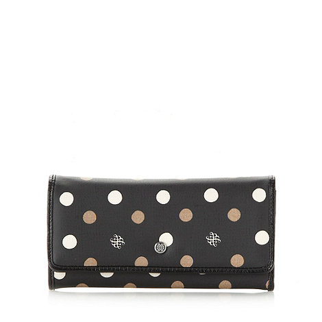 Bailey & Quinn - Black large spotted purse