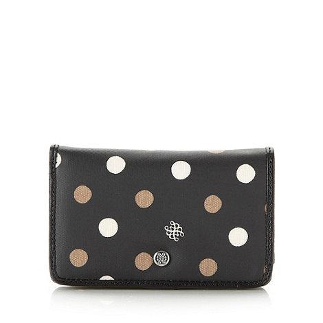 Bailey & Quinn - Black medium spotted purse