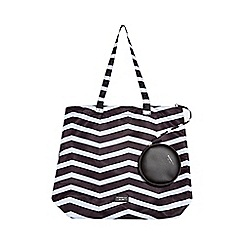 Fiorelli - Black emma nylon foldable shopper bag