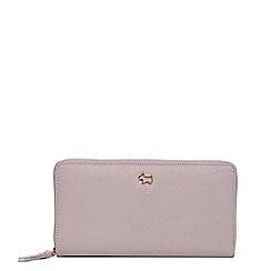 Radley - Grey ashby road zip around matinee purse