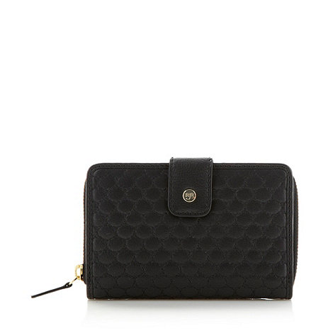 RJR.John Rocha - Designer black small quilted leather purse