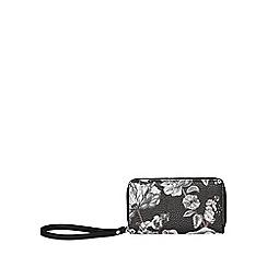 Fiorelli - Black finley medium zip around purse