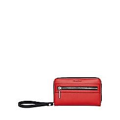 Fiorelli - Red abbey zip around purse