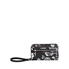 Fiorelli - Black abbey zip around purse