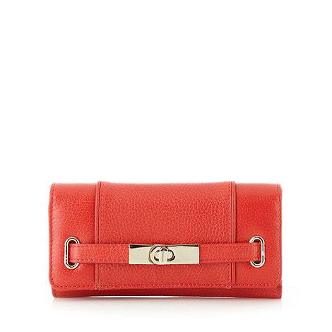 J by Jasper Conran - Designer red leather strap purse