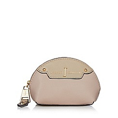 J by Jasper Conran - Designer pale pink two tone coin purse