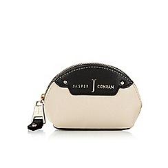 J by Jasper Conran - Designer black two tone dome coin purse