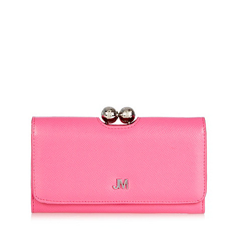 Star by Julien Macdonald - Pink cross hatch frame purse