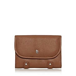 Betty Jackson.Black - Designer tan leather studded purse