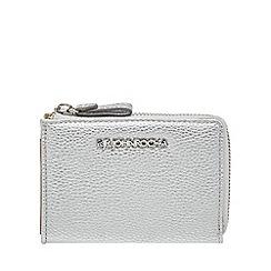 RJR.John Rocha - Silver small zip around purse